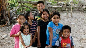 Kinder in Honduras.